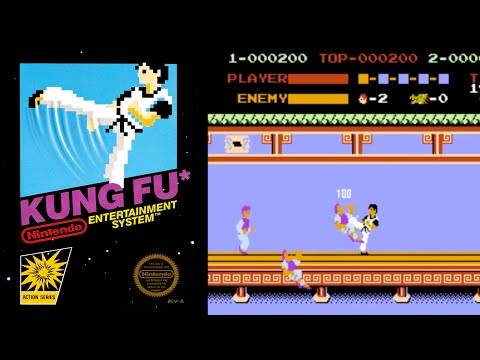 Kung Fu (NES) - Quick Play and Review