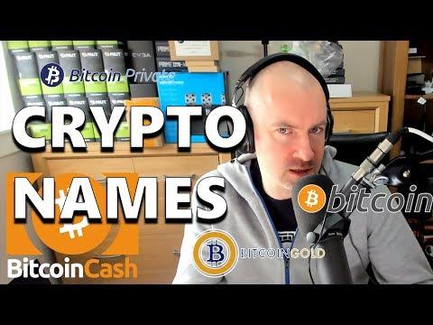 New Cryptocurrencies Should Have Unique Names