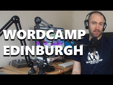 I'm Going to WordCamp Edinburgh