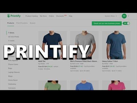 Printify - A Free Print on Demand Service