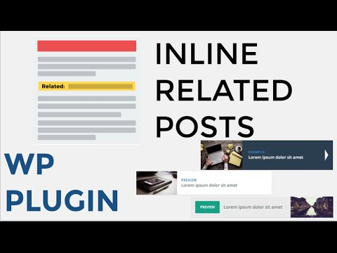 Inline Related Posts WordPress Plugin