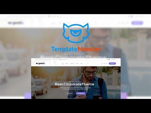Wapuula - Multipurpose Corporate WordPress Theme #62666