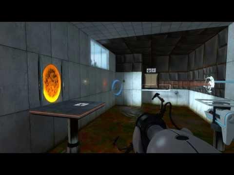 SimpleScreenRecorder demo: recording Valve's Portal on Linux