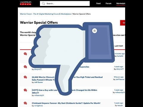 Let's Look at Some Crappy Warrior Special Offers (WSOs)