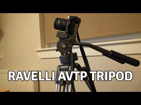 Ravelli AVTP Professional 75mm Video Camera Tripod Review