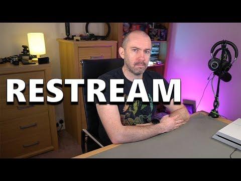 Restream - A Mult-Platform Video Streaming Service