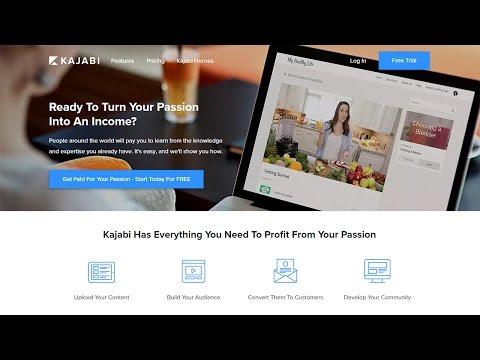 Kajabi - A Premium Online Course & Membership Service