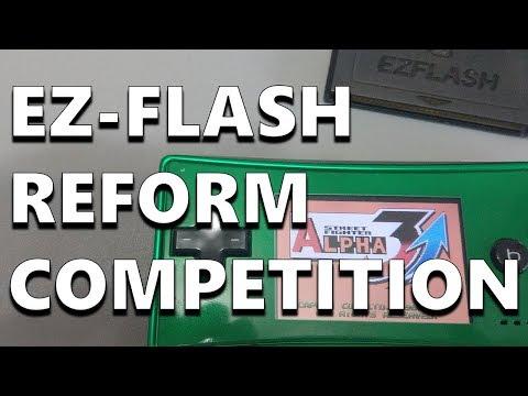 Win an EZ-Flash Reform Game Cartridge