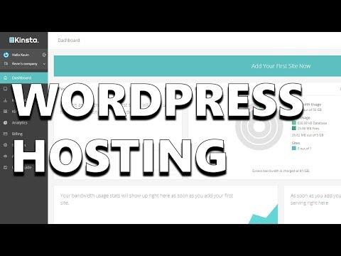 Kinsta - Fast & Secure WordPress Hosting