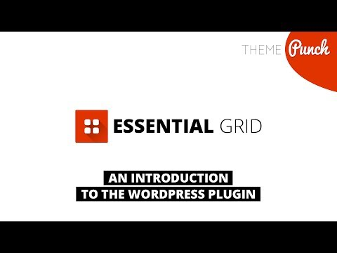 Essential Grid WordPress Plugin - Introduction