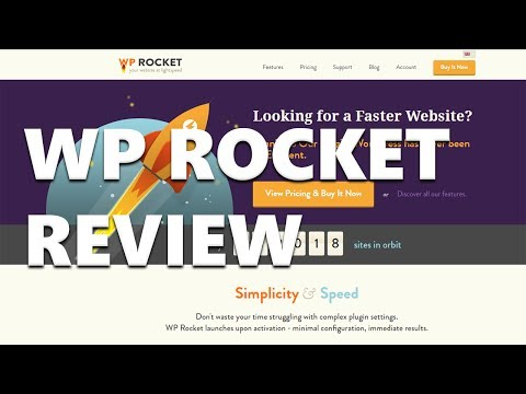 WP Rocket - A Review of the Popular WordPress Caching Plugin