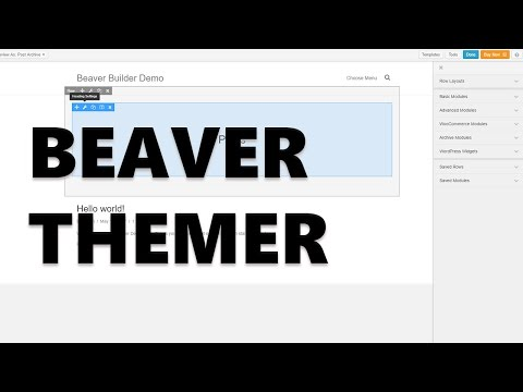 Beaver Themer - A New Theming Addon for Beaver Builder