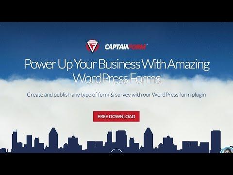 CaptainForm - A Fantastic Form & Survey WordPress Plugin