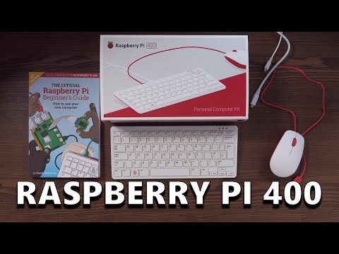 Raspberry Pi 400 - Unboxing, Teardown & Raspberry Pi OS Setup