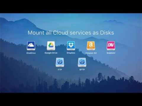 CloudMounter: your ultimate client for the most popular cloud services
