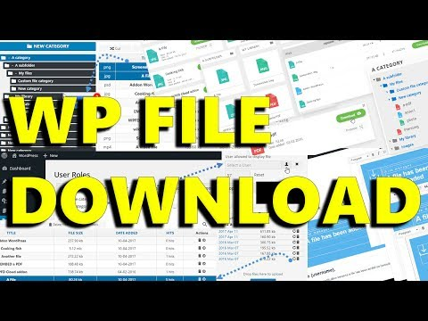 WP File Download - A Professional File Management Solution
