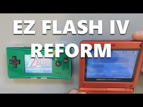 EZ Flash IV Reform - A Great Retro Flash Cart Just Got Better