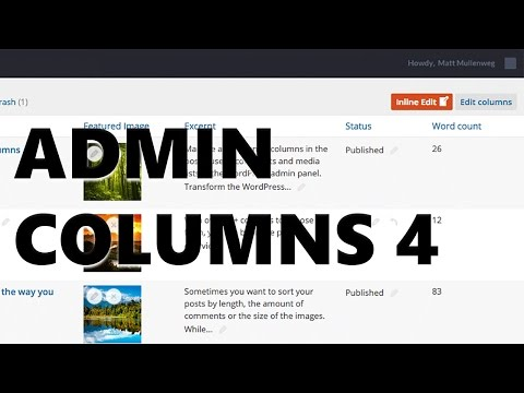 Admin Columns 4 - A Major Update of Admin Columns Pro