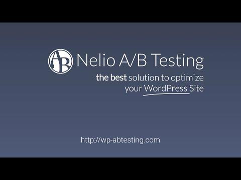 WordPress A/B Testing: Introduction to Nelio A/B Testing for WordPress