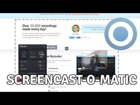 How to Record Your Computer Screen Using Screencast-O-Matic