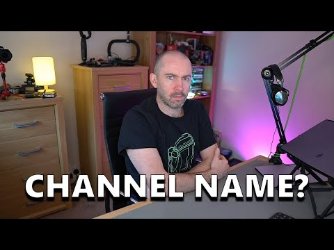 A New Name for This Channel