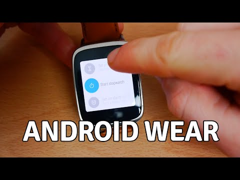 Android Wear - Review and Walkthrough