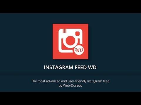Instagram Feed WD WordPress plugin