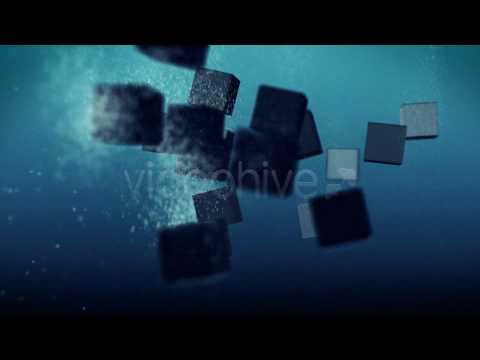 Videohive Underwater Logo intro