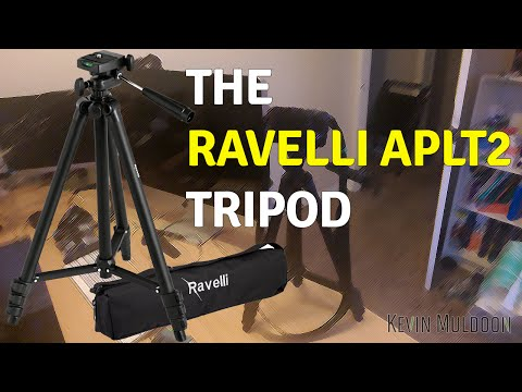 "The Ravelli APLT2 50"" Light Weight Aluminum Tripod"