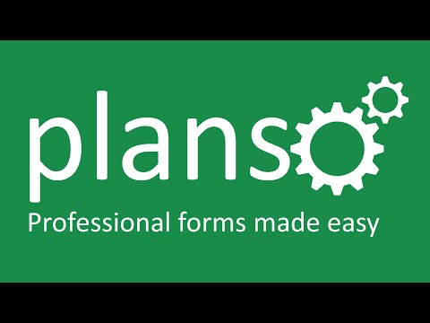 PlanSo Forms