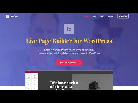 Elementor - A Free Drag and Drop Page Builder For WordPress