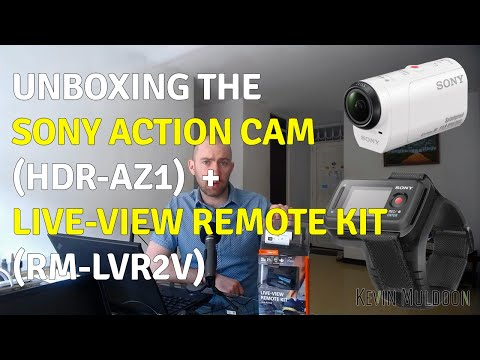 Unboxing the Sony Action Cam (HDR-AZ1) and Live-View Remote Kit (RM-LVR2V)